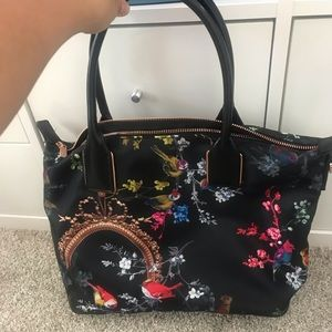 Ted Baker London passion opulent fauna small tote